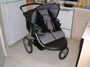 Safetech Swivel Double Jogger